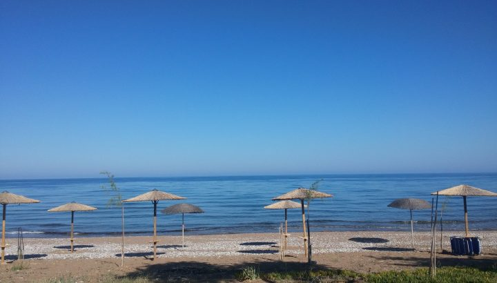 beach at Irida Resort Suites