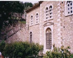 Moni Chrysokellarias,male Monastery