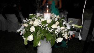 wedding flower at Irida Resort