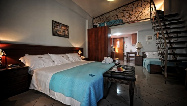 Room Apollo of Irida resort suites